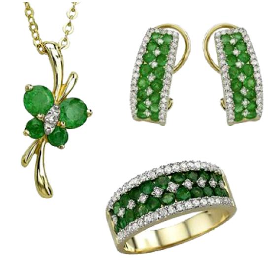 Yeşil Takı Modelleri