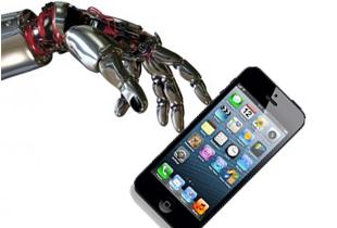 İphonelere robot eli değecek