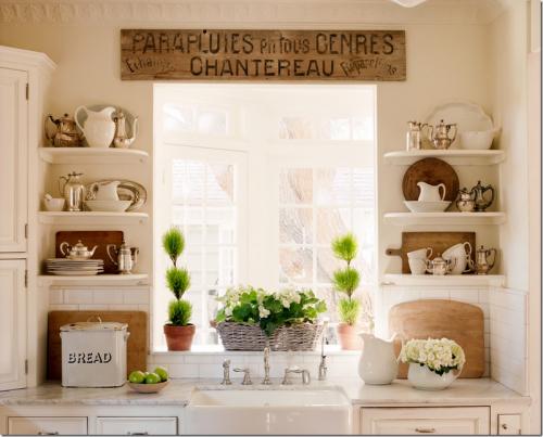 Mutfağınızı Açık Raflarla Dekore Edin