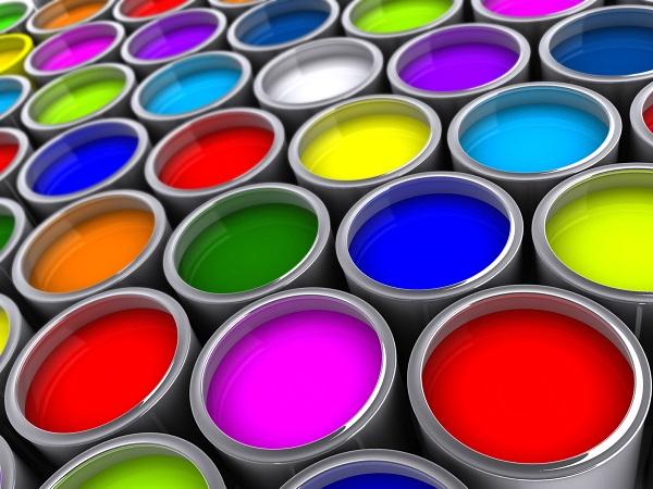 dekorasyonda boya