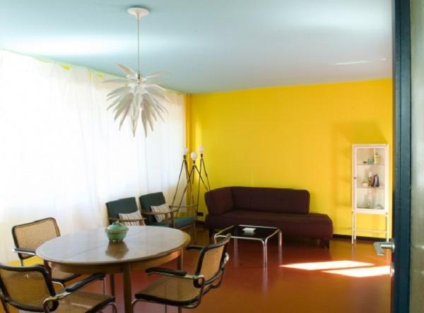 sarı ev tonları