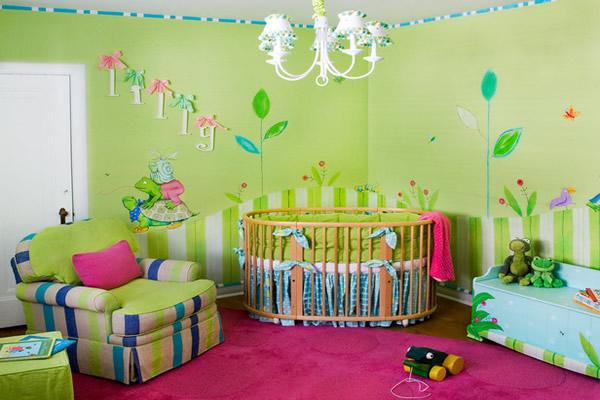 bebek odası dekoratif ürünler