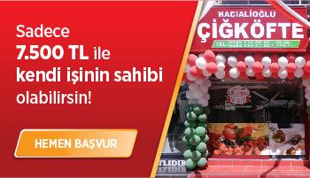 Hacıalioğlu Çiğ Köfte Bayilik Sistemi
